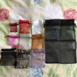 #Blessing - Gift Pouches (~20 of various sizes and colours)