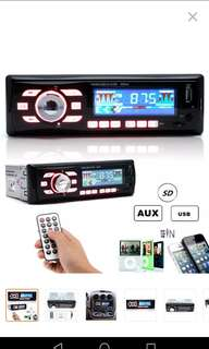 Car Audio Stereo 12V 6086 Remote Control FM Radio stereo MP3 WMA USB SD MMC AUX Player