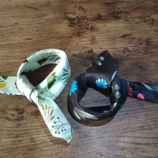 Pattern/scarf leher atau bandana (hamdmade)