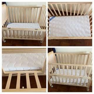 Baby Cot full set.