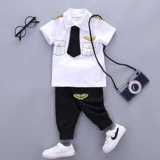 Mr. Pilot Set + Jogger Pants
