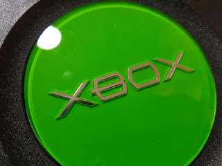 XBOX Original Console w/ 2 controllers & 5 games