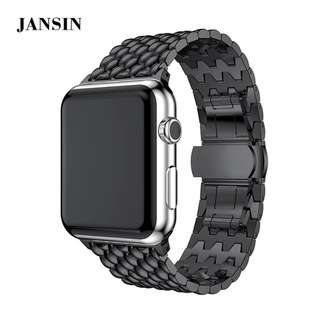 ●JANSIN● Instock New stainless steel Apple iwatch strap
