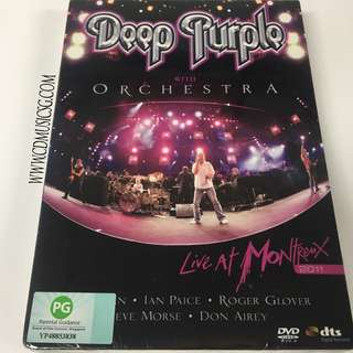 🚚 DVD Deep Purple with orchestra - Live At Montreux 2011