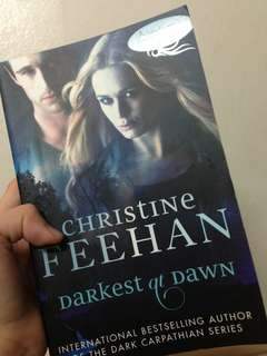 [REPRICED] Christine Feehan Darkest at Dawn