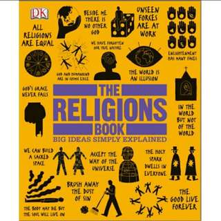 Ebook The Religions Book DK Publishing