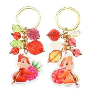 日本 Disney Store 直送 Hello Chip n Dale 系列 Chip n Dale 掛飾匙扣套裝