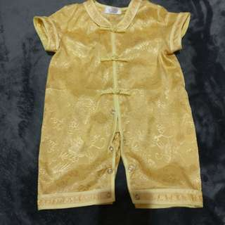 Gold J kids samfu Rompers 8-12months