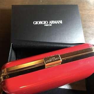Giorgio Armani Parfums clutch bag