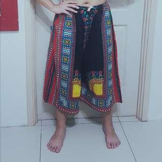 Unisex Dashiki Wide Legged Pants