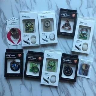 電話手指套 Phone Ring Minions / Emoji / Keroppi / Ironman