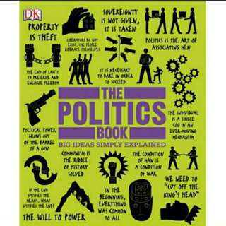 eBook The Politics Book: Big Ideas Simply Explained