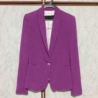 Zara Jersey Blazer
