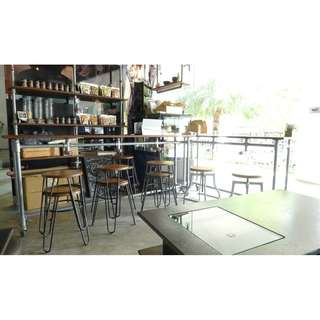 Industrial Shelving and Tables
