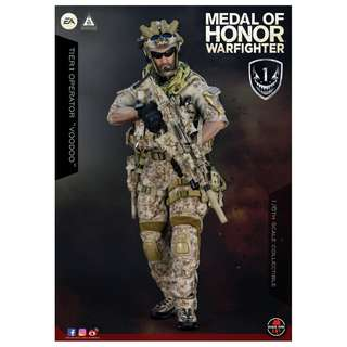 """PO: Soldier Story - SS106 - Medal Of Honor Navy SEAL - 1/6 Scale Tier One Operator """"Voodoo"""" 荣誉勋章 - 海豹突击队 - 巫毒"""
