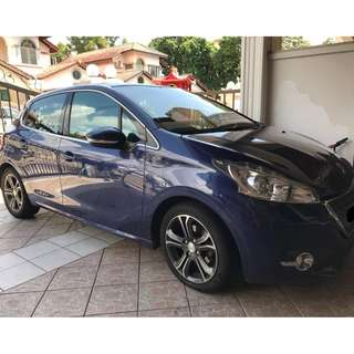 2013 Peugeot 208 1.6 (A) (DIRECT OWNER)