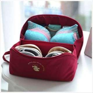 台灣品牌 Taiwan brand 天藍小舖 skyblue 內衣收納袋 bra bag 大容量 旅行收納袋 travel bag 防水 waterproof