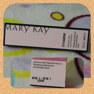 100% Authentic Mary kay TimeWise foundation