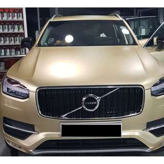 STICKER WRAP VOLVO CAR