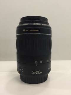 Canon EF 55-200mm f4.5-5.6 IS ii