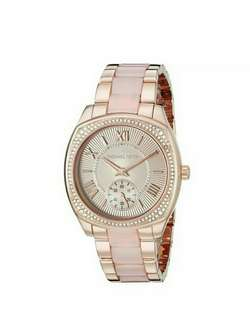 Michael Kors Bryn Rose Dial Rose Gold-Tone Ladies Watch MK6135