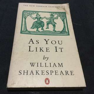 SHAKESPEARE - As You Like It