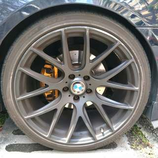 E60 rims and exhaust