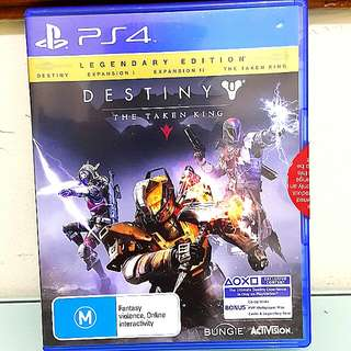 Destiny PS 4 Legendary Edition