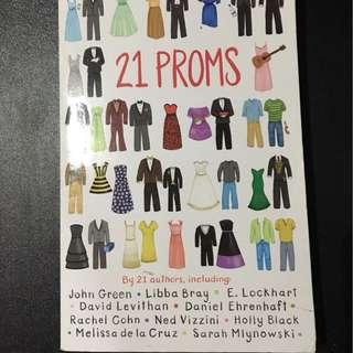 🎈21 Proms Book