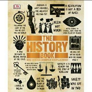 eBook The History Book Big Ideas Simply Explained
