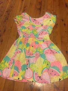 Watermelon dress size 7