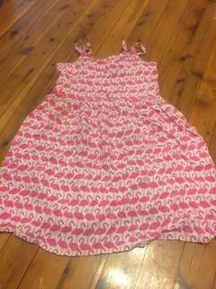 Flamingo dress size 8