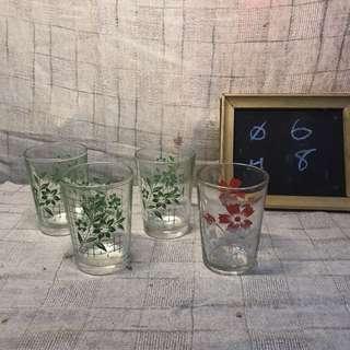 🚚 早期 小杯子 酒杯 文青愛用裝飾