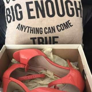 Watermelon Strap Heels