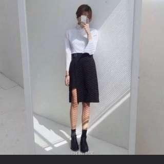 BN! Korean High Waist Slimming Skirt!