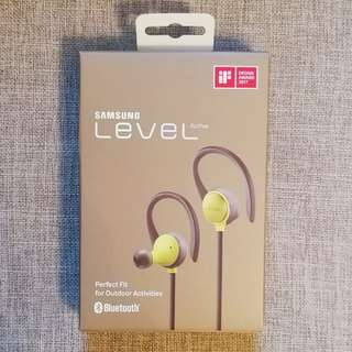 Samsung Level Active 藍牙耳機 (全新未開封)
