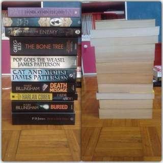 mixed paperbacks