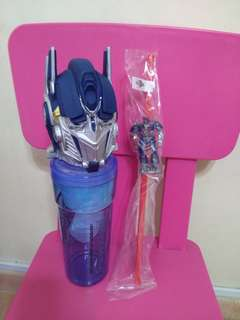 BN USS Transformers Water Bottle