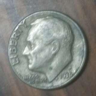 1976年十美分硬幣