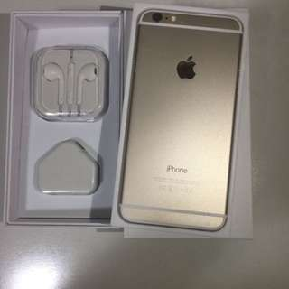 iphone6plus 64g open line gold original iphone6 plus complete set