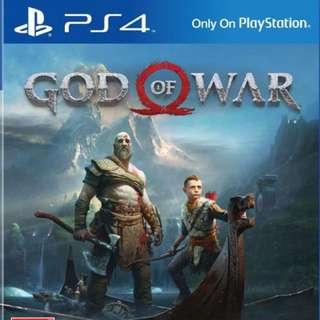 BNIB God Of War Ps4 GOW (Preorder) R3