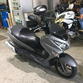 2015 Suzuki Burgman 200