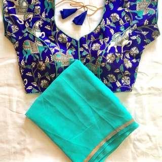 Saree and blouse set