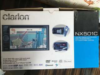 Clarion 歌樂 NX501C 大面板車機