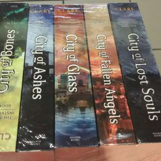 Mortal instruments sealed book 1-5