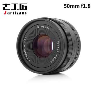 7artisans 50mm f1.8 for sony , Fuji , m4/3