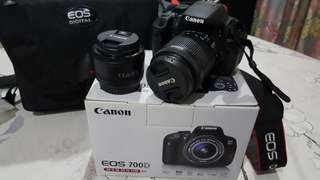 (Price reduced!!!)Canon EOS 700D