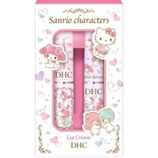 日本DHC sanrio lip cream唇膏melody kitty little twin stars