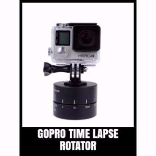 GP TLP-001 TIME LAPSE ROTATOR for Cameras, DSLR's, GoPro's