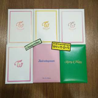 TWICE PRE-ORDER PHOTOCARD SETS
